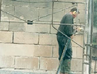 Restauración de fachadas en piedra